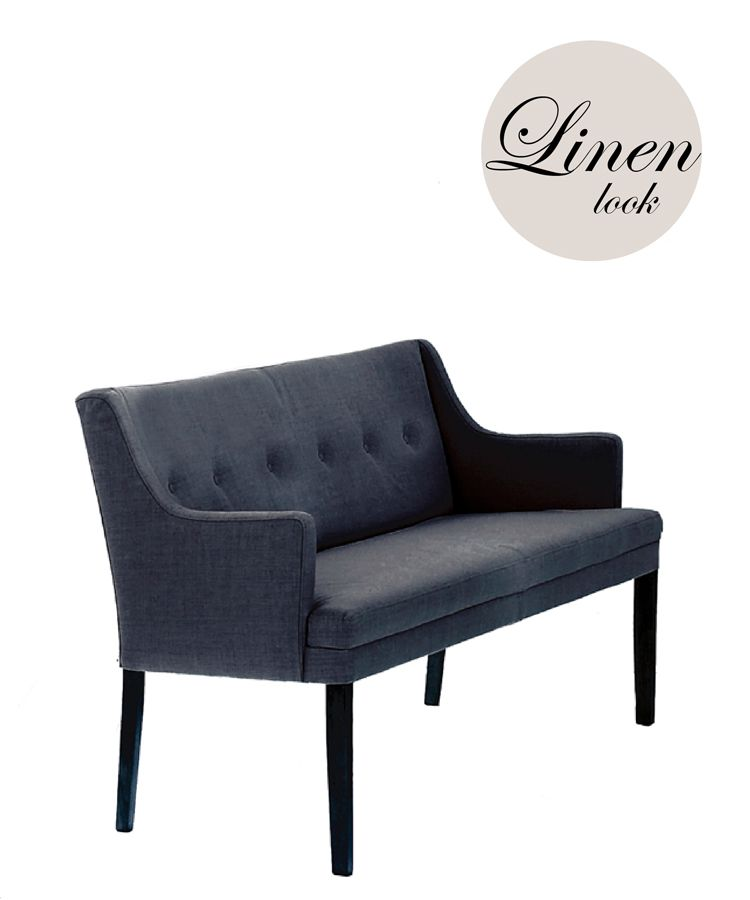 Magnificent Bohoco Home Upholstered Dining Sofa Bench High Arms Linen Pabps2019 Chair Design Images Pabps2019Com