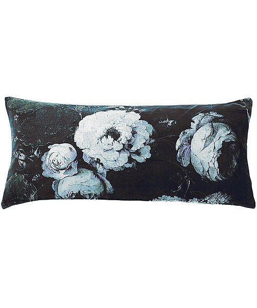 Floralism Moonlit 82 x 35 velvet cushion