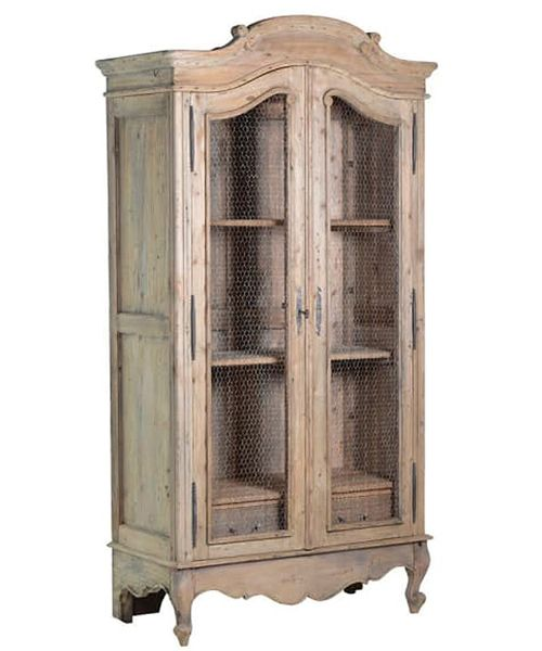 Modern Rustic reclaimed wood armoire